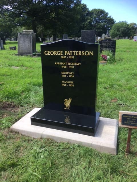 The men who built Liverpool FC: George Patterson | Tales of ...